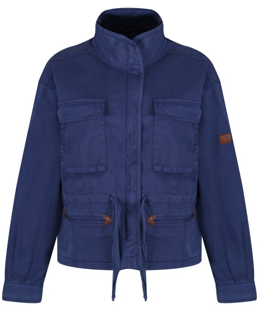 Women's Aigle Treakway Military Jacket - Indigo Blue