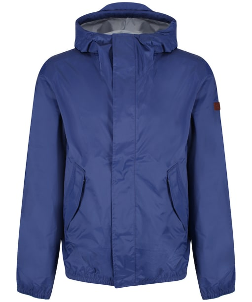 Men's Aigle Travelpack Raincoat - Ink BLue