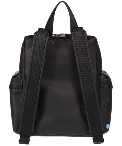 Hunter Original Mini Top Clip Backpack - Rubberised Leather - Black