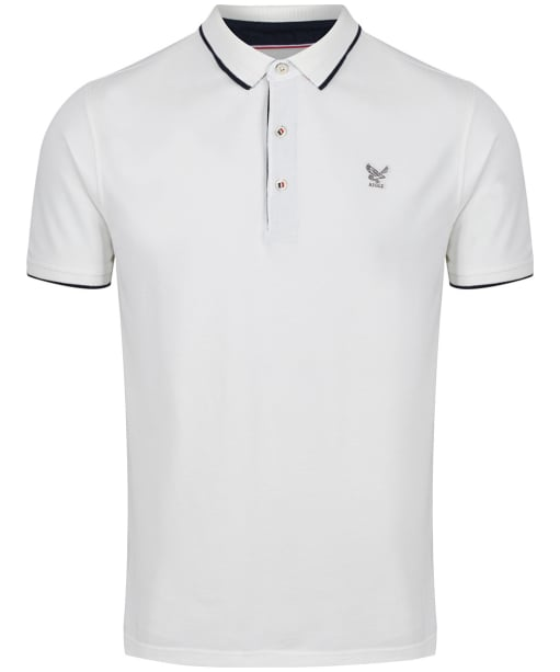 Men's Aigle Bartley Polo Shirt - White