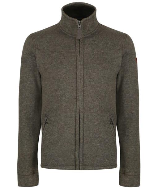 Men's Aigle Niven Fleece Cardigan - Khaki