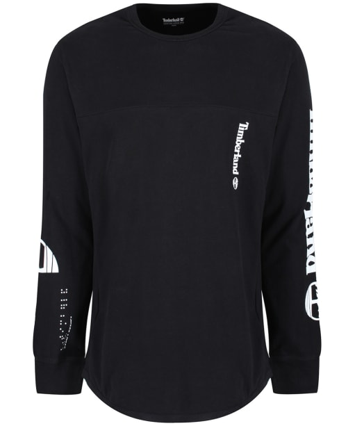 Men's Timberland Long Sleeved Oversized Tee - Black