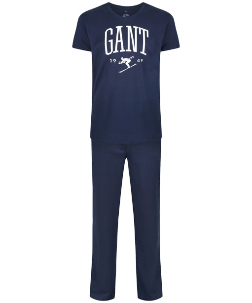 Men's GANT Holiday Pyjamas Gift Box - Marine