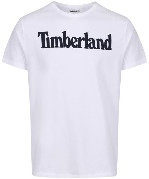 Men's Timberland Kennebec River Brand Tee - White Linear