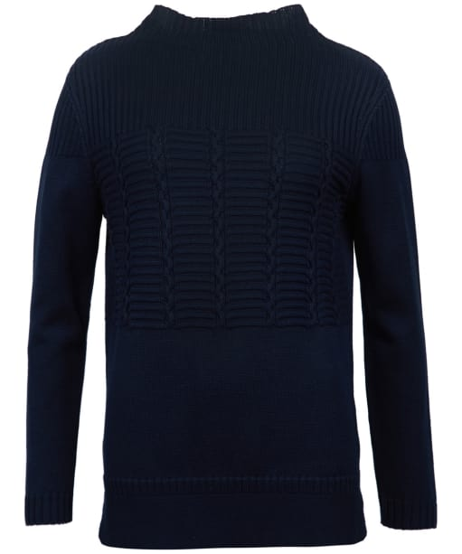 Women's Barbour Portsdown Knitted Sweater - Navy