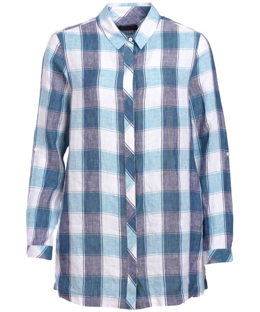 Women's Barbour Lorne Shirt - Aqua