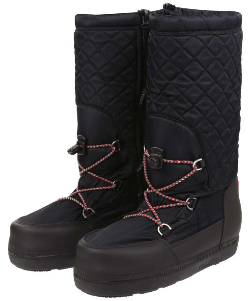 Women's Hunter Original Quilted Snow Boots - Black