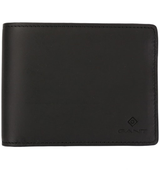 Men's GANT Leather Wallet - Black