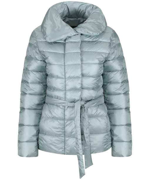 Women's Barbour Endrick Quilted Jacket - Light Aqua