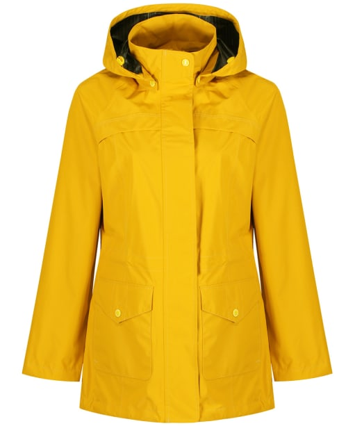 Women's Barbour Dalgetty Waterproof Jacket - Canary Yellow