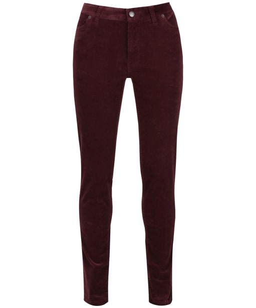 Women's Schoffel Cheltenham Cord Trousers - Mulberry