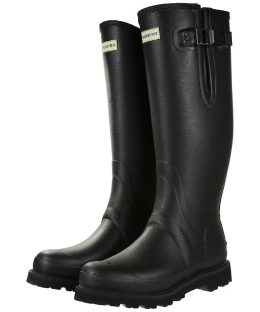 Men's Hunter Field Balmoral Neo Adjustable Wellington Boots - Black
