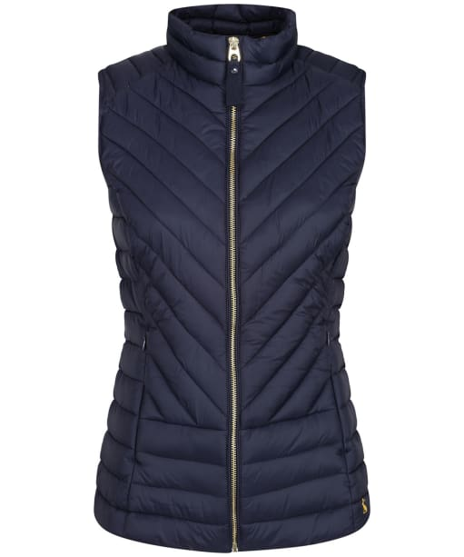 Women's Joules Brindley Quilted Gilet - Marine Navy
