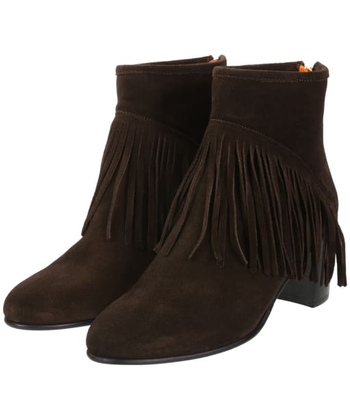 Women's Fairfax & Favor Pimlico Boots - Chocolate Suede