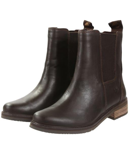 Women's Timberland Mont Chevalier Chelsea Boots - Potting Soil