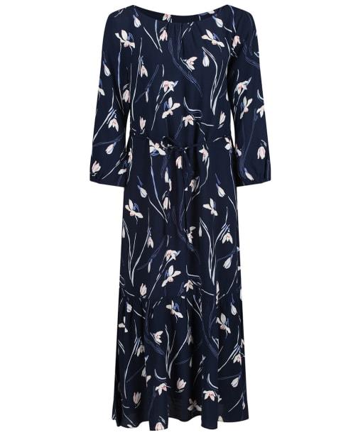 Women's GANT Snowdrop Ruffle Dress - Marine