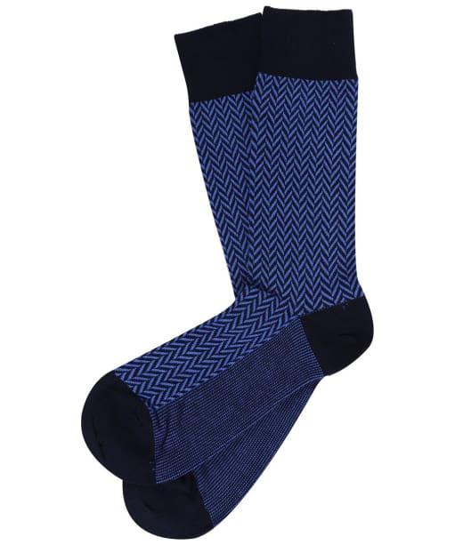 Men's GANT Herringbone Socks - Periwinkle Blue