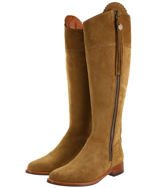 Women's Fairfax & Favor Sporting Fit Regina Boots - Tan Suede