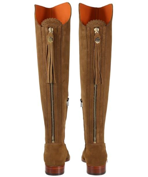 Women's Fairfax & Favor Flat Amira Boots - Tan Suede