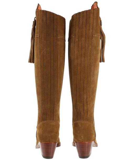 Women's Fairfax & Favor Regina Heeled Sporting Fit Boots - Tan Suede