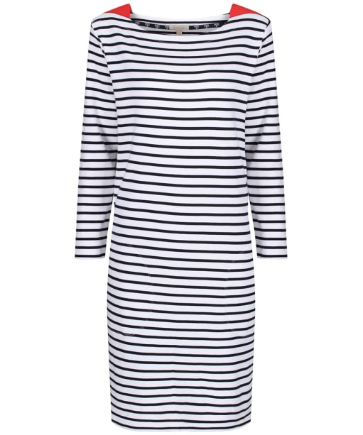 Women's Barbour Southwold Dress - Navy / White