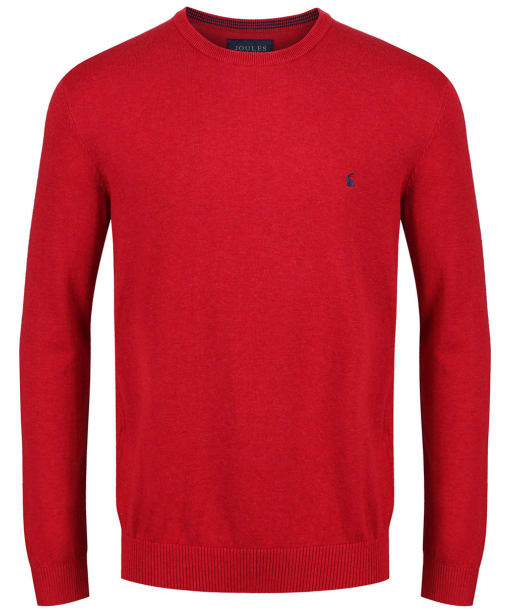 Men's Joules Jarvis Jumper - Red Marl