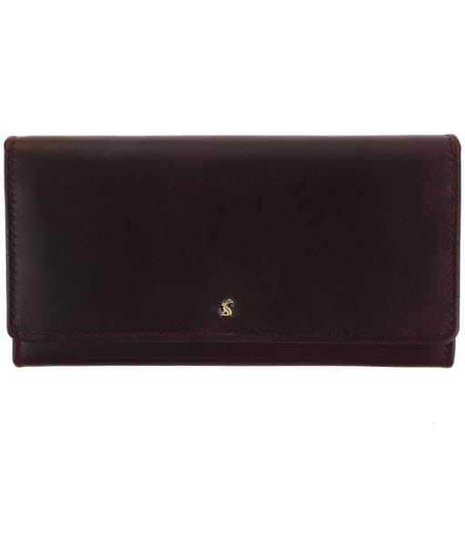 Women's Joules Tally Leather Purse - Oxblood