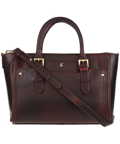 Women's Joules Hathaway Mini Leather Bag - Oxblood