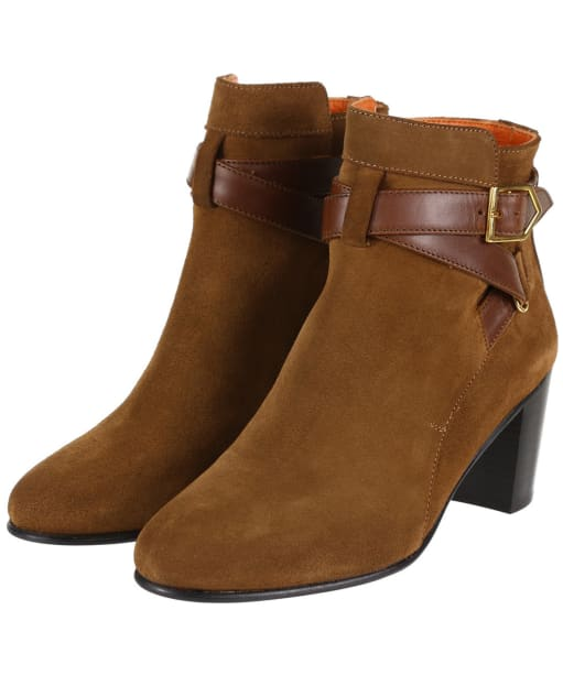 Women's Fairfax & Favor Kensington Boots - Tan Suede