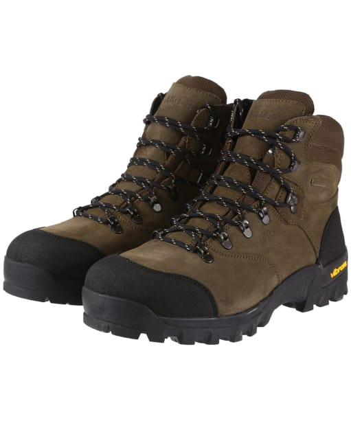 Men's Aigle Altavio Mid GORE-TEX® Walking Boots - Sepia / Black