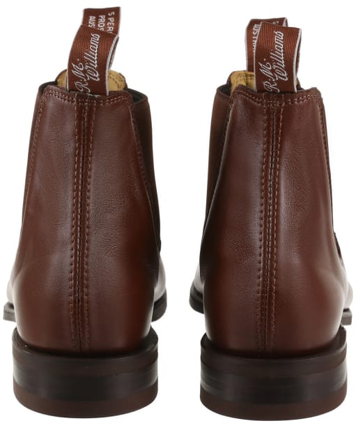 Men's R.M. Williams Comfort Craftsman Boots - H Fit - Dark Tan