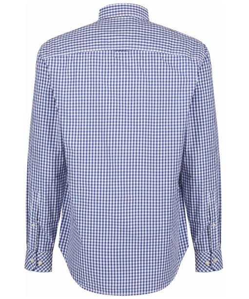Men's Joules Hewney Shirt - Blue / White Gingham