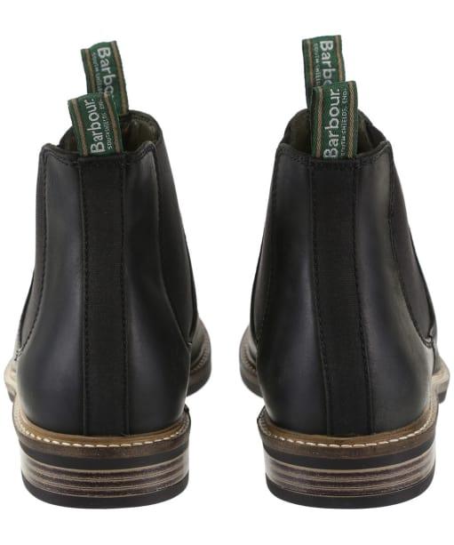 Men's Barbour Farsley Chelsea Boots - Black Nubuck