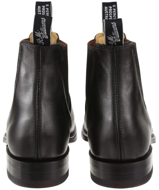 Men's R.M. Williams Classic Craftsman Chelsea Boots - G Fit - Black