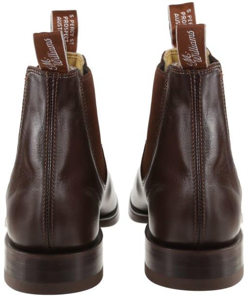 Men's R.M. Williams Classic Craftsman Chelsea Boots - G Fit - Chestnut