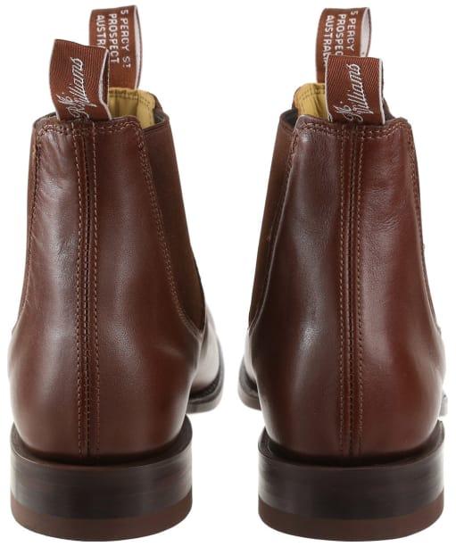 Men's R.M. Williams Classic Craftsman Chelsea Boots - G Fit - Dark Tan
