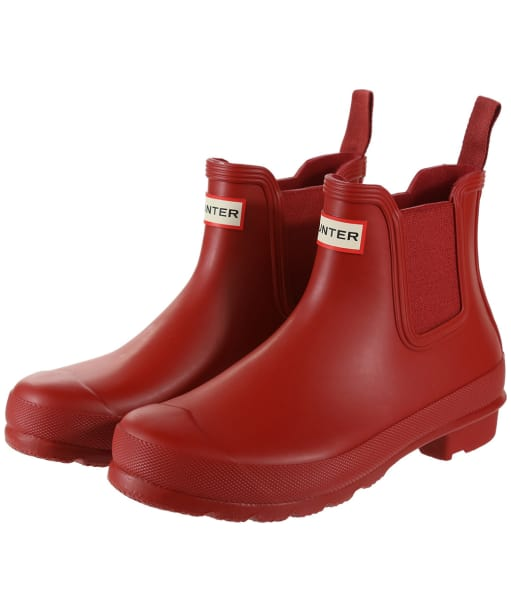 Women's Hunter Original Chelsea Boots - Military Red
