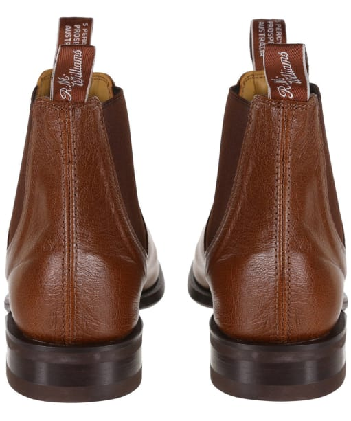 Men's R.M. Williams Comfort Craftsman Kangaroo Boots - H Fit - Tan Bark