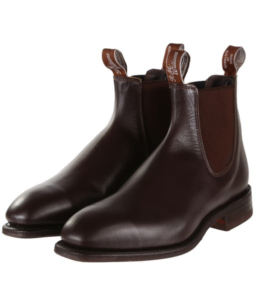 R.M. Williams Dynamic Flex Boots - G Fit - Chestnut