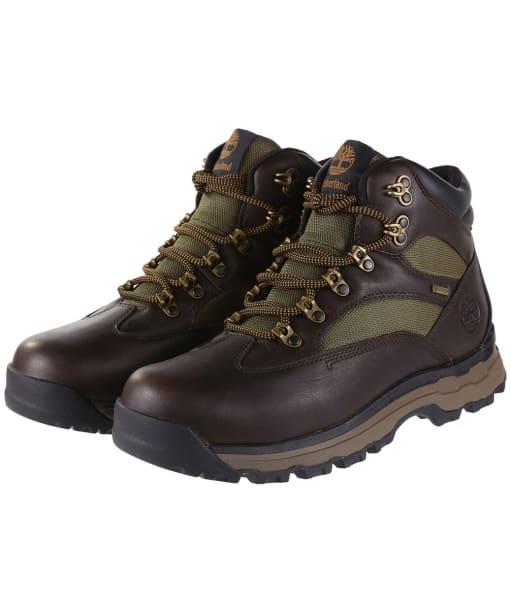 Men's Timberland Chocorua Trail 2 Gore-Tex® Hiker Boots - Dark Brown / Green