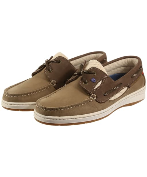 Women's Dubarry Crete Moccasins - Coffee / Cream