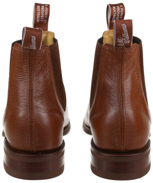 Men's R.M. Williams Kangaroo Comfort Craftsman Boots - G Fit - Tan Bark