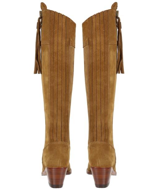 Women's Fairfax & Favor Heeled Regina Boots - Tan Suede