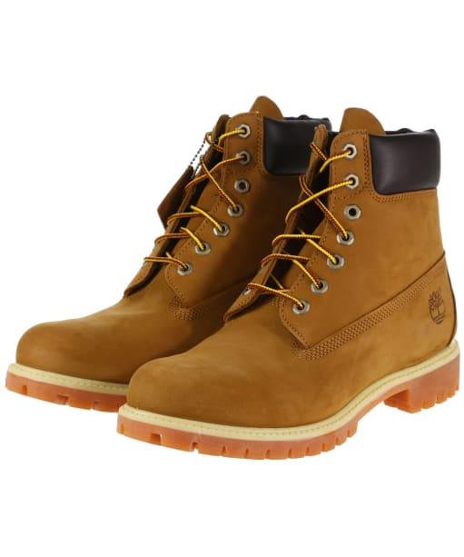 "Men's Timberland 6"" Premium Boots - Rust Nubuck"