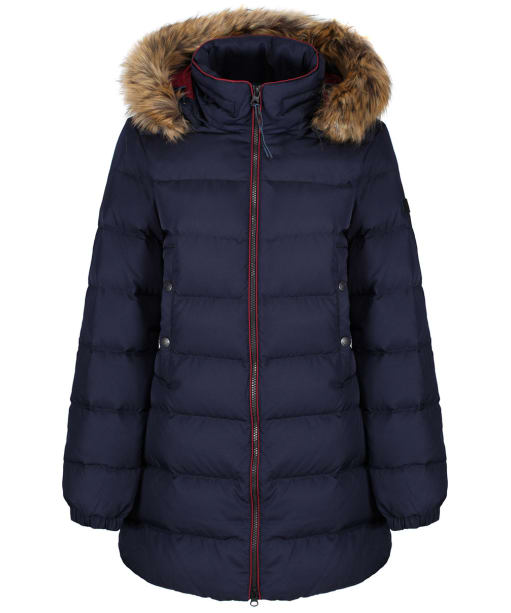 Women's Aigle Rigdown Mid Length Puffer Jacket - Dark Navy