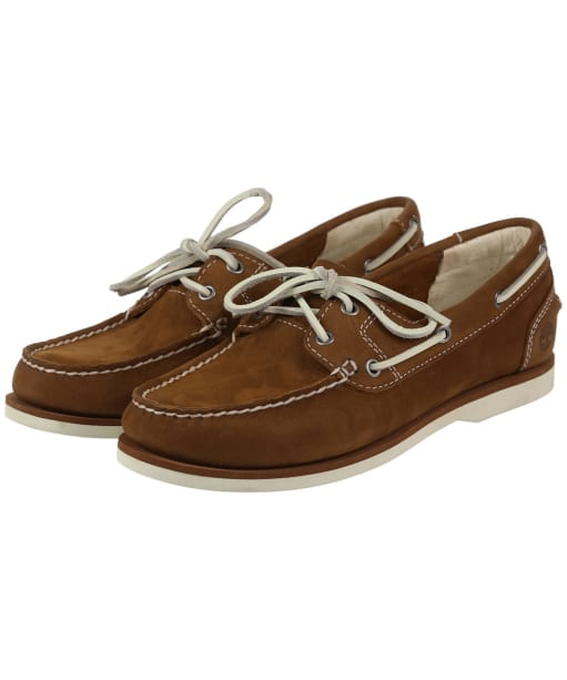Women's Timberland Earthkeepers® Classic Unlined Boat Shoes - Medium Brown