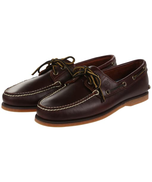 Men's Timberland Icon Classic 2 Eye Shoes - Rootbeer Smooth