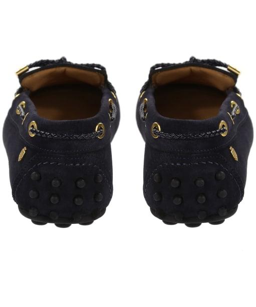 Women's Fairfax & Favor Henley Shoes - Navy Blue Suede
