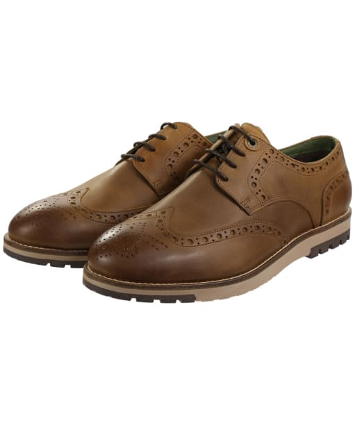 Men's Barbour Palmer Brogues - Timber Tan