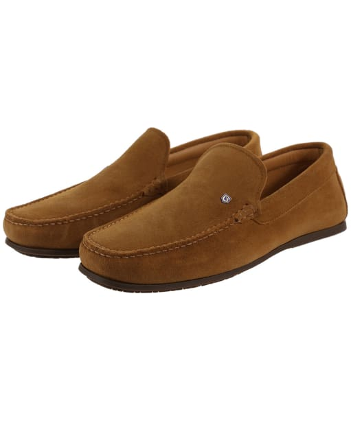 Men's Dubarry Azores Loafers - Camel